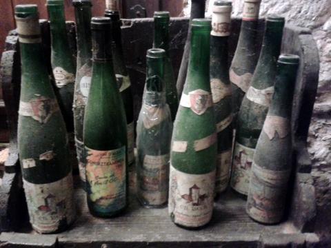 Florian Beck-Hartweg's cobwebby bottles by Sue Style